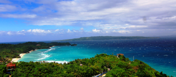View from Mount Luho Boracay